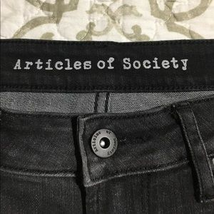 Articles of society Sz 29 Sarah storm distressed